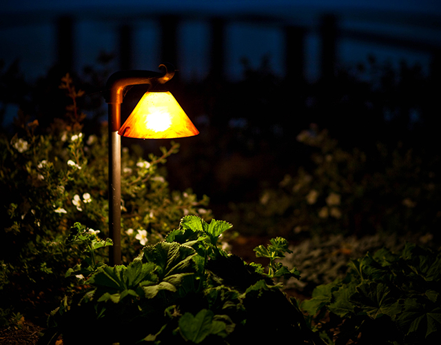 Landscape lighting installers calgary about us the outdoor our showroom features a large variety of working fixtures that can be shown in a dark setting so you can choose the fixtures for their lighting quality as mozeypictures Choice Image